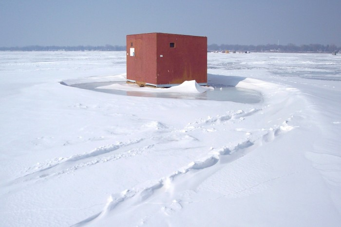 7. Not to mention ice fishing!