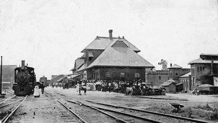2. Now home to the Delta Blues Museum, the Clarksdale freight depot was originally constructed in 1918 for the Yazoo and Mississippi Valley Railroad.