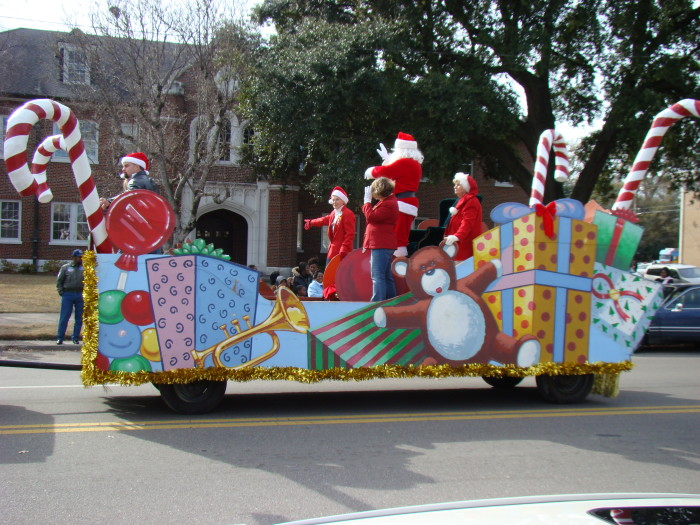 2. And the local Christmas parade is even sooner.