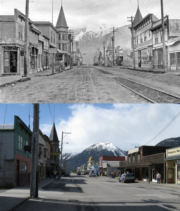 7) Skagway... Then and Now