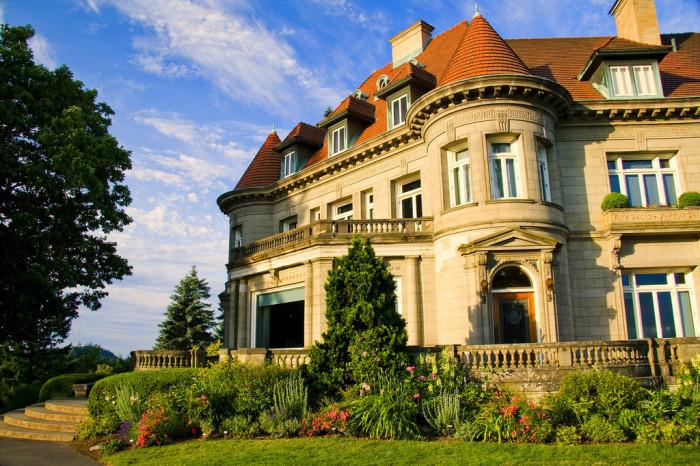 3) Pittock Mansion