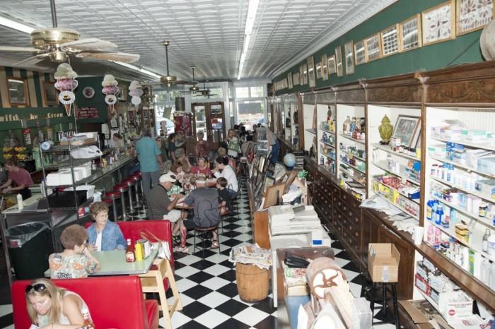 2. Borroum's Drug Store, Corinth