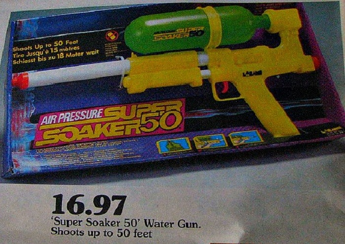 6. The Super Soaker was also invented in Alabama. I can't imagine what my childhood would've been like without my Super Soaker. I had a blast with it! This popular toy was invented in 1989, and it's been ranked among the world's top 20 best-selling toys every year since its release.