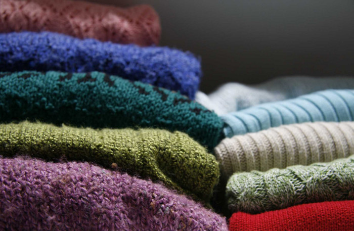 12) Time to make use of all those sweaters.