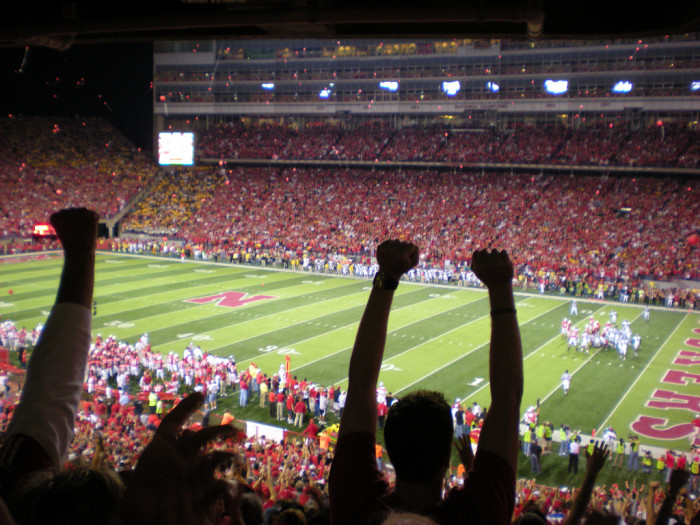 3. We plan weddings, parties, and other important events around Husker games.