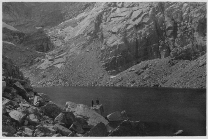 "12. ""View of Chasm Lake."""