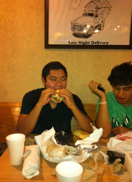 3. The 3 Fat Shack Sandwiches Challenge at  Fat Shack (Fort Collins)
