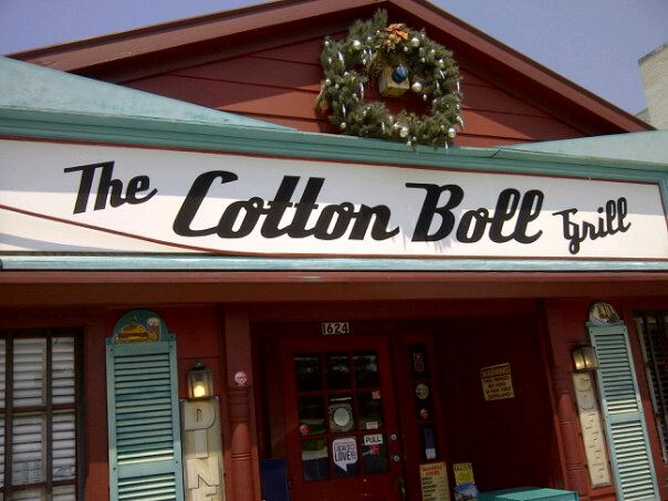 9) Cotton Boll Grill, Shreveport