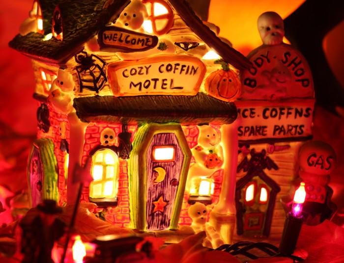 5. The beginning of the seasonal decorations!