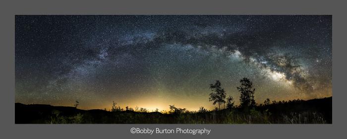 4. Milky Way Across Albert Pike