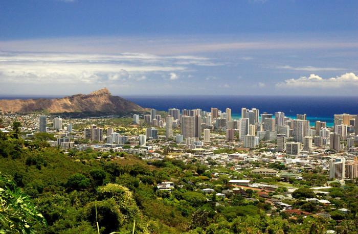 3) East Honolulu