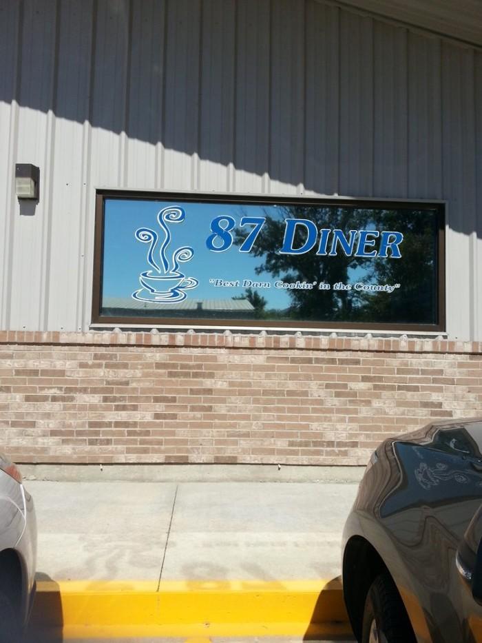 3. 87 Diner, Boonville