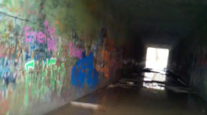 3. Satan's Tunnel, Hawk Point