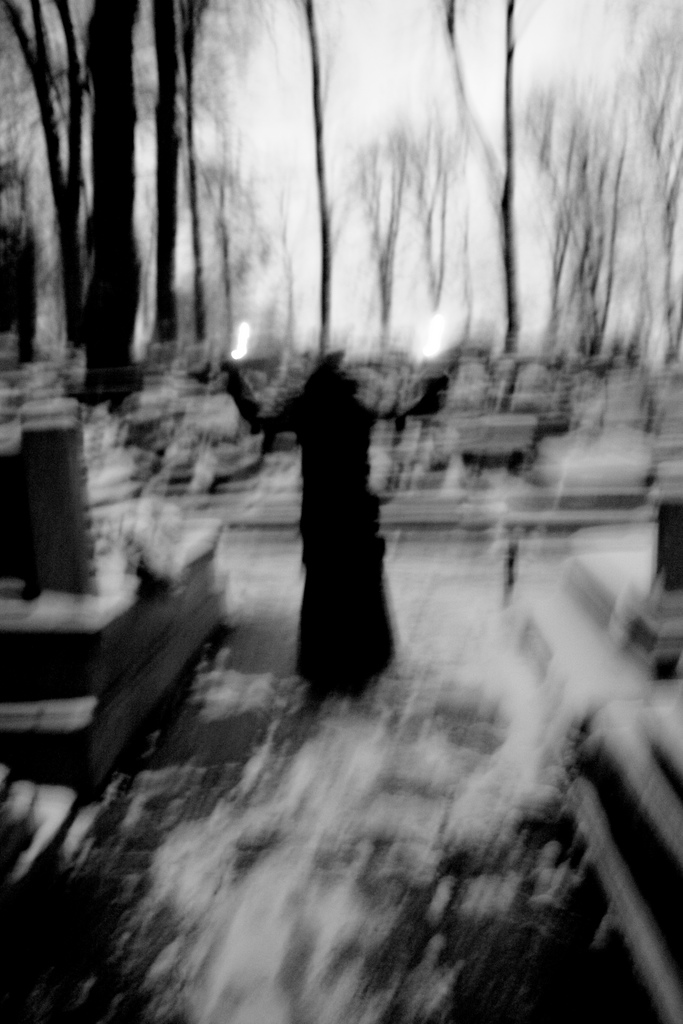 3. The witch of Graniteville Cemetery