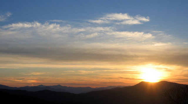 """9. """"Sunset on the Mountain"""""""