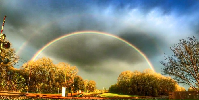 """3. Taken in Richland, the photographer of this picture appropriately captioned it """"God's Promise."""""""