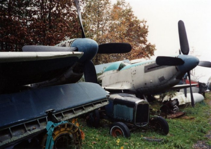 Today, it is unclear what remains of the aircraft graveyard.