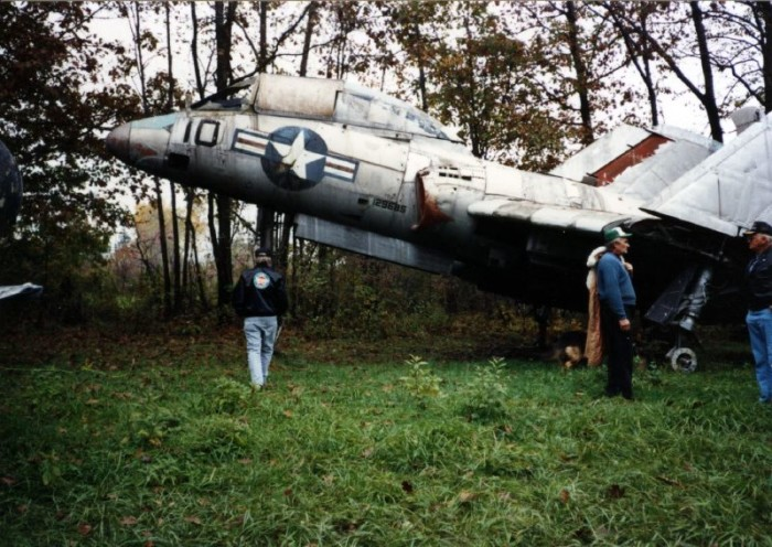 Soplata used to open his property to the public, but in recent years the aircraft boneyard has been kept private.