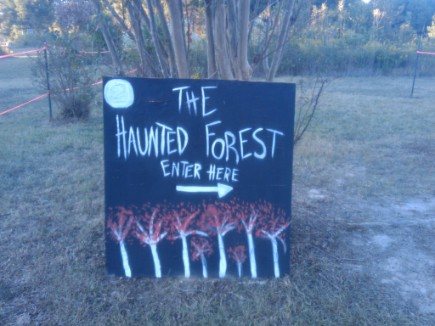 2. Hurricane Haunted House and Forest, Thaxton