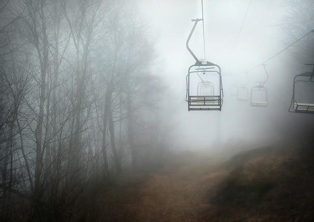 1. Foggy lift