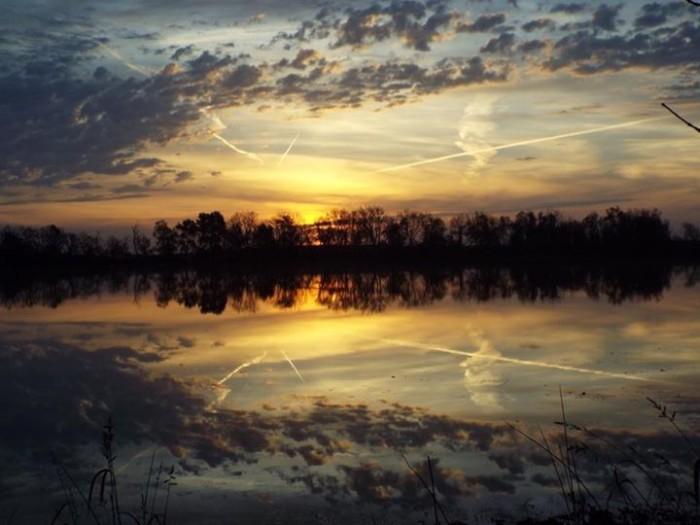 3. DeNeitt VanDenBroeke snapped this amazing photo of the sunrise near Spirit Lake.