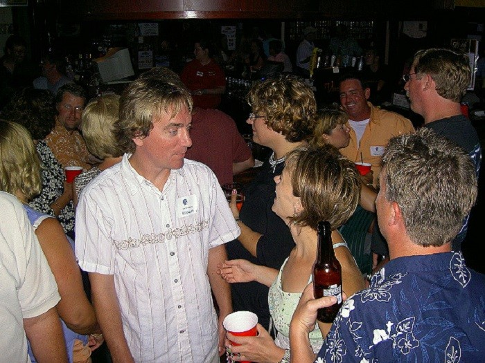10. Your high school class holds a reunion every 5-10 years. Even though you talk to most of your former classmates on a regular basis, you always make plans to attend.