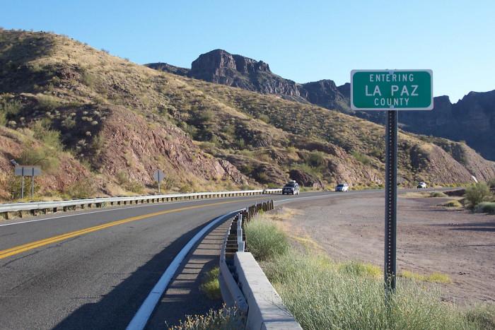 2. La Paz County