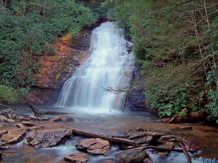 4. Helton Creek Falls - Union County, Georgia