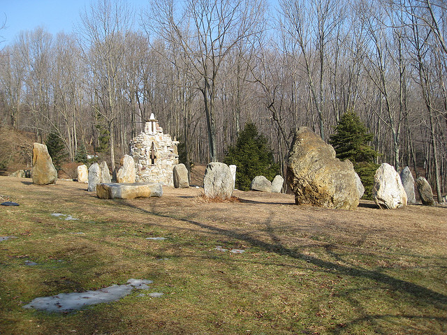 10. Columcille Megalith Park in North Bangor