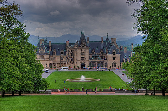 13. The grueling labor of the Biltmore House.