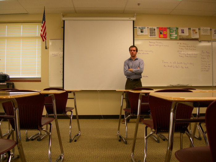 5. There was only one teacher for every subject, so you had the same English teacher four years in a row.