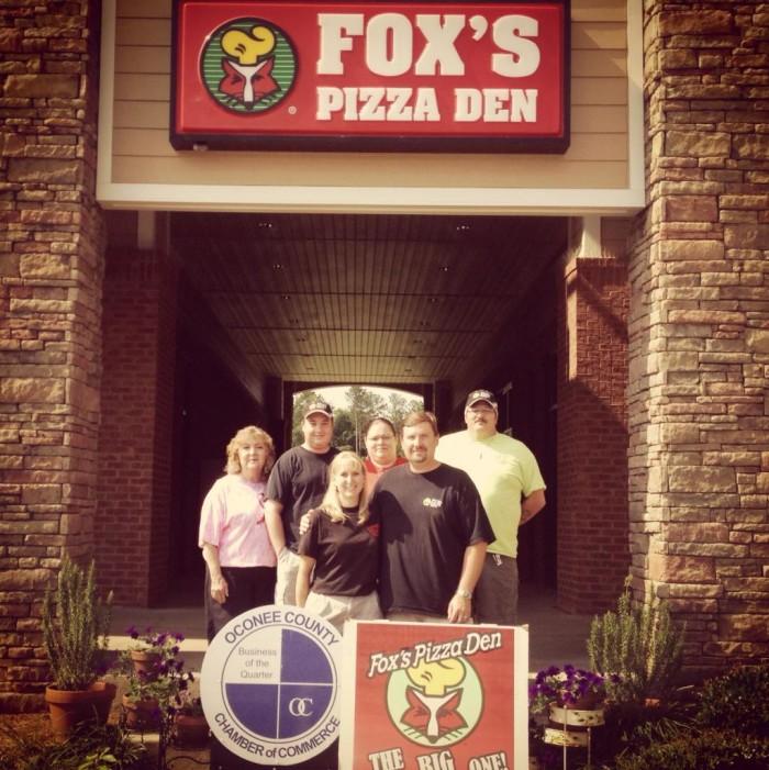 7. Fox's 30″ Big One Pizza Challenge (Oconee) - 2971 Monroe Hwy, Watkinsville, GA 30677