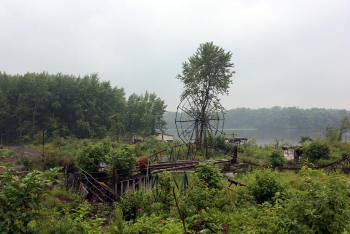 13. The abandoned Chippewa Lake Park