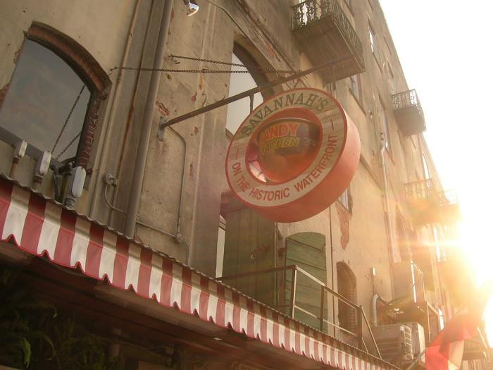 2. Savannah's Candy Kitchen and their Pumpkin Pie Fudge- 225 E. Main St., Savannah, GA