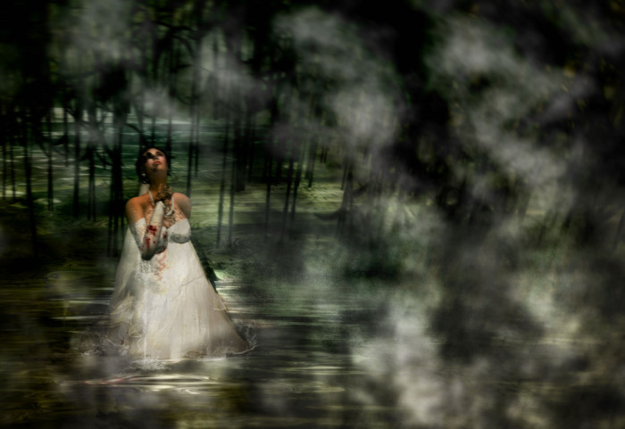 11. The Bride of West End Cemetery in Newberry