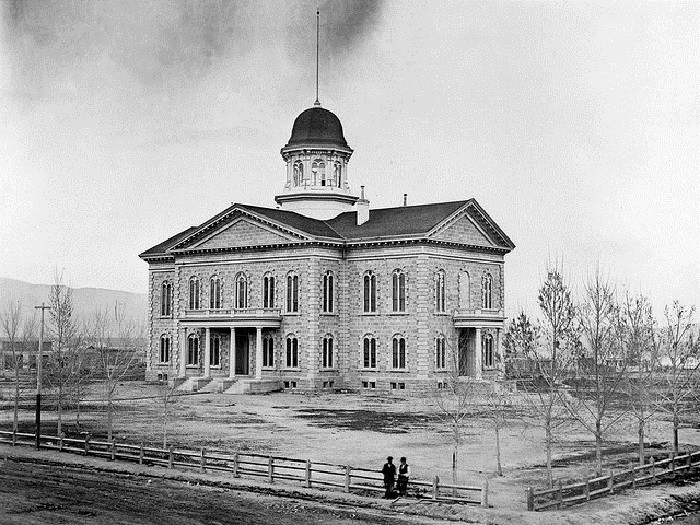 1. Nevada State Capital, Carson City, 1875