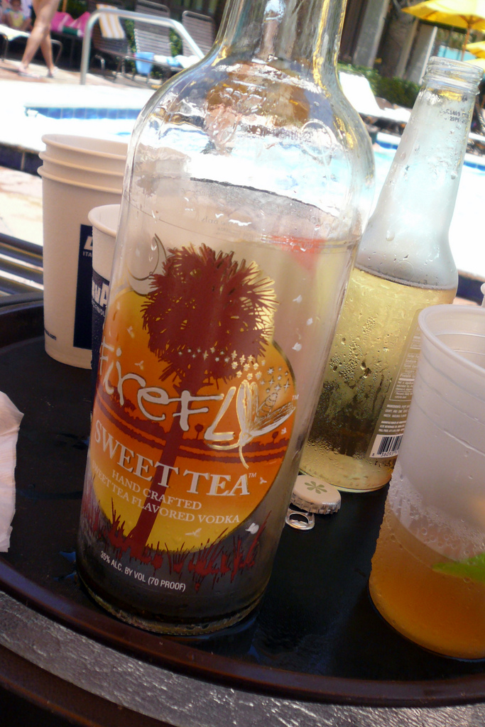 8. And, speaking of sweet tea, we now mix it with Firefly Vodka. Thank you  Firefly Distillery in Awendaw.