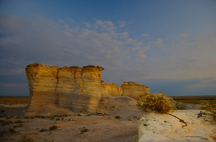 4. Monument Rocks (Grinnell)