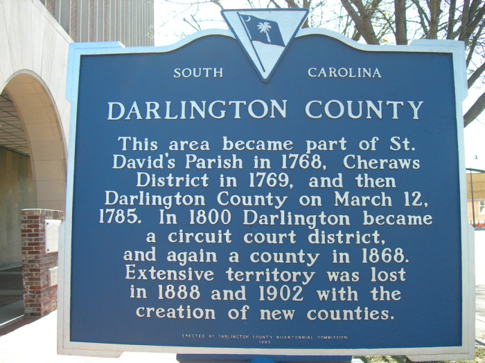 8. The Pearl of the Pee Dee a.k.a Darlington