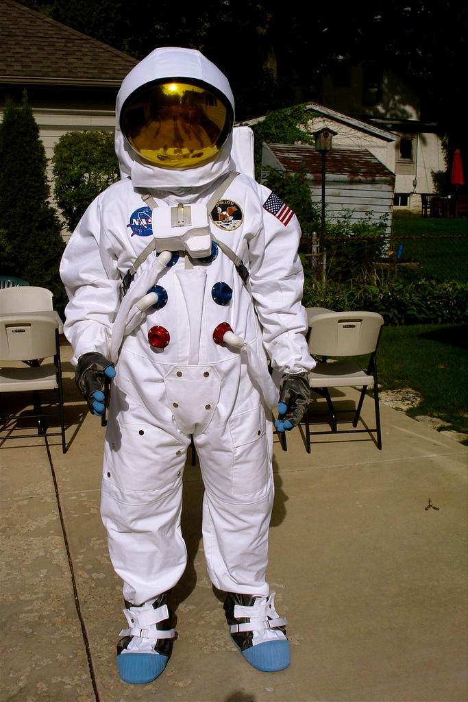 4. An astronaut