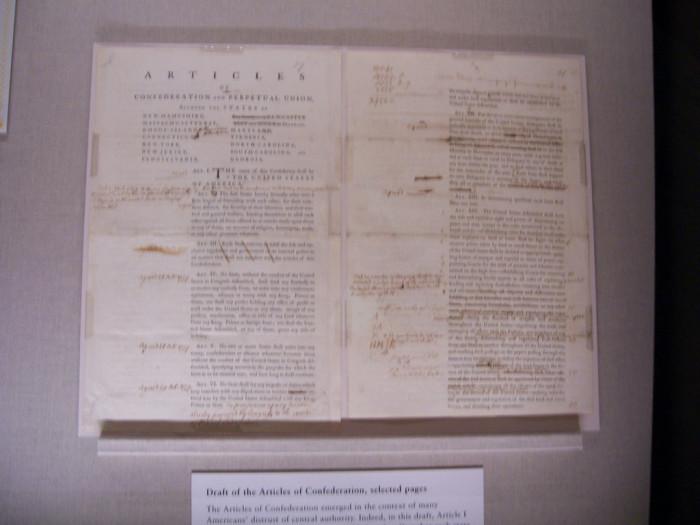 5. Articles of Confederation