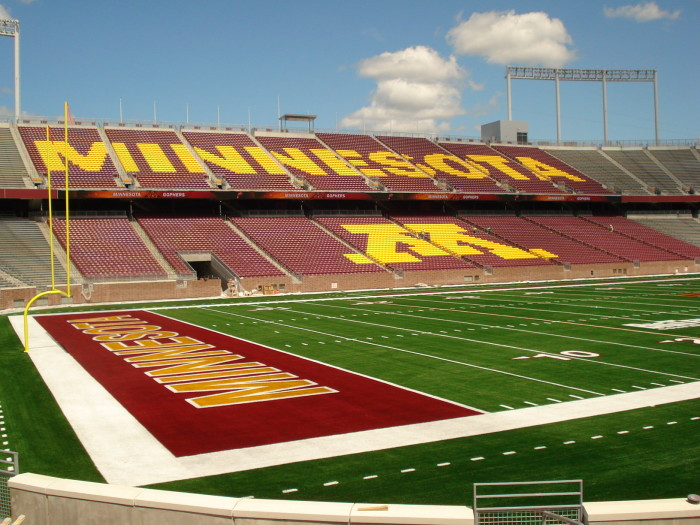 3. TCF Bank Stadium, University of Minnesota