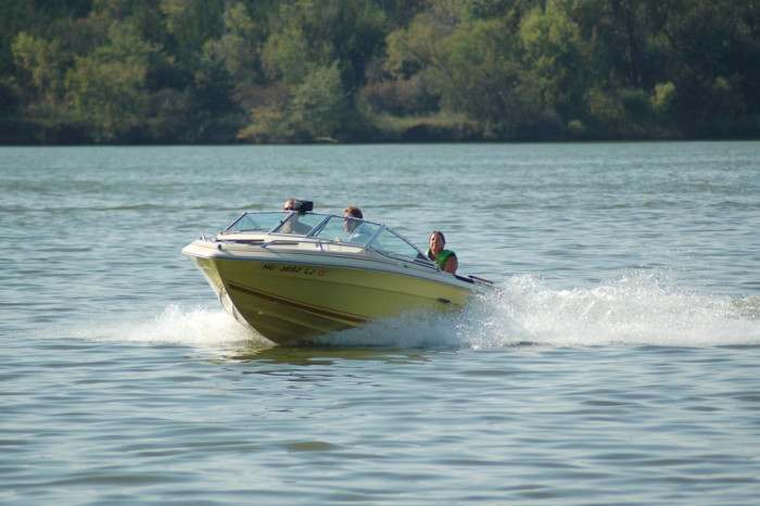 6. Turning down an invitation to go out on the water.