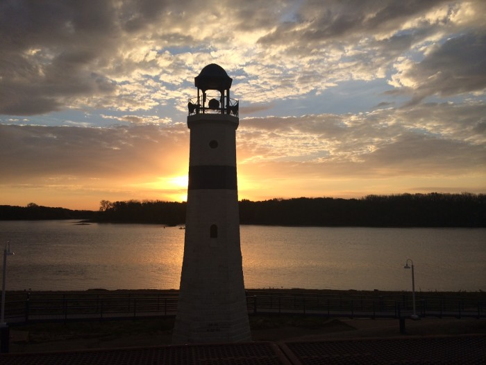 3. Beth Hafner snapped this gorgeous shot of the Mississippi River in Clinton.