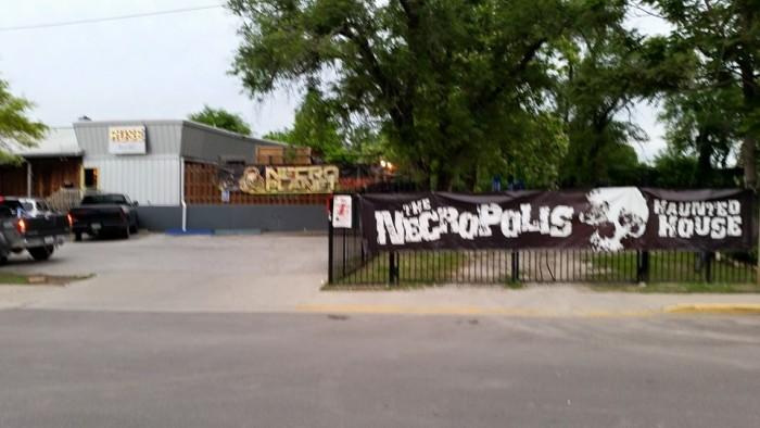 4. Necropolis Haunted House - Columbia
