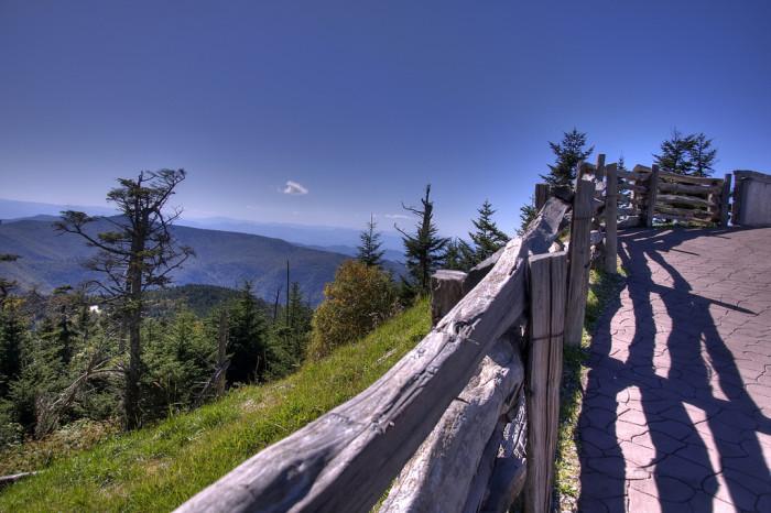 10. Mt. Mitchell