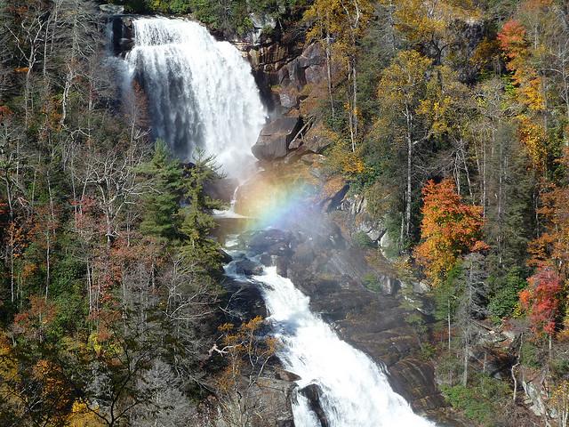 11. Water rainbow
