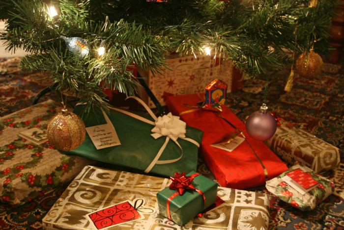 8.  Santa is watching!