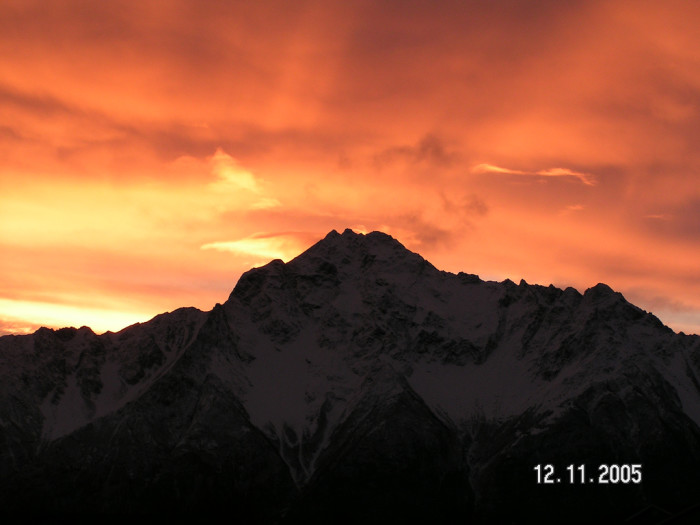 1) A beautiful Alaskan sunrise near Palmer, Alaska.