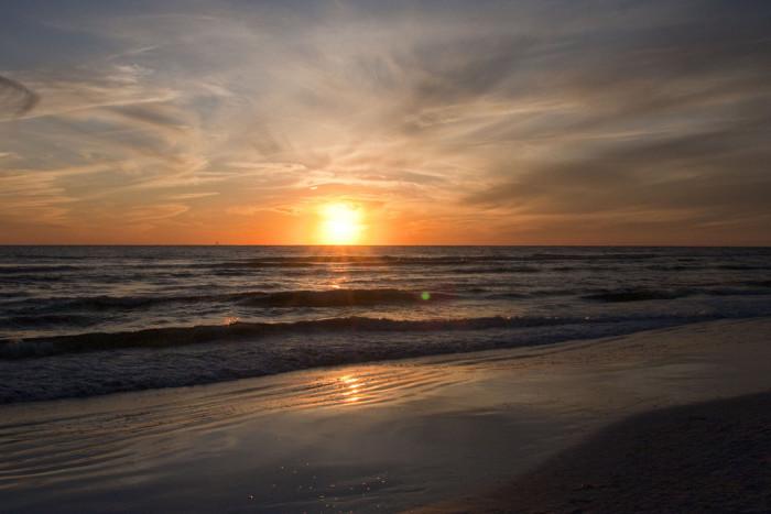 16. This sunset captured on Siesta Key